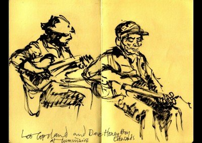 HONEYBOY Dave Edwards sketch @ Luminaire