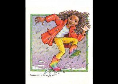 SOMETIMES rain is for reggae