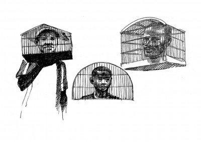 cagedheads